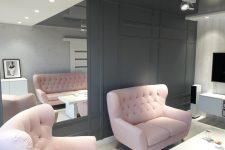 Unico Wnętrze Zamość, Wnętrza prywatne, Salon w bloku – Zamość