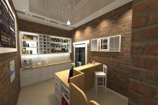 UNICO Wnętrze Zamość, Wnętrza publiczne, Restauracja Aleje Smaku w Zamościu