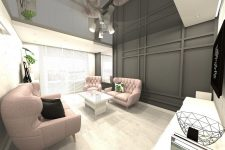 UNICO Wnętrze Zamość, Wnętrza prywatne, Mieszkanie w Zamościu