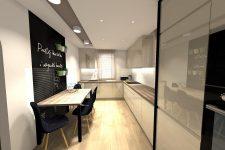 Unico Wnętrze Zamość, Wnętrza prywatne, Kuchnie