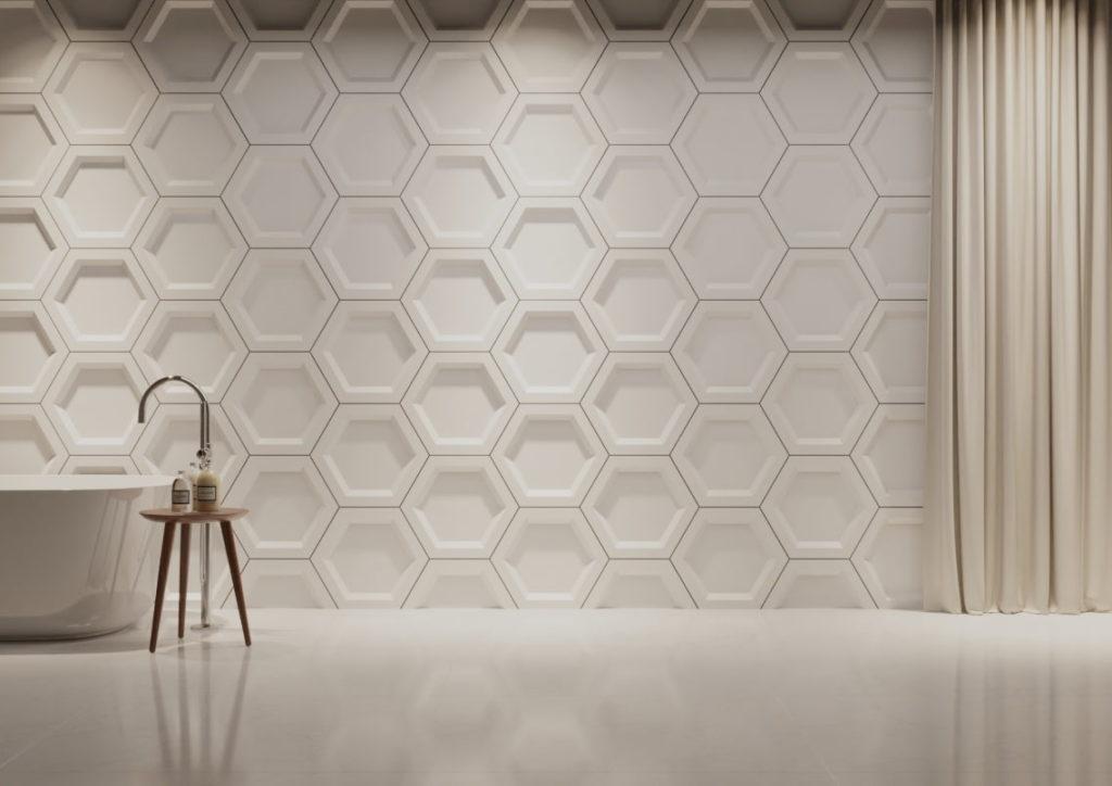 panele dekoracyjne dunes hexagon