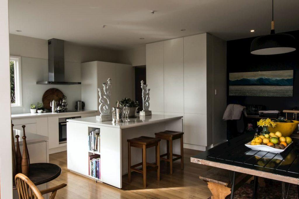 Pomysł na salon z kuchnią