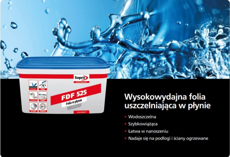 hydroizolacja sopro fdf 525